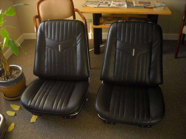69 Gto Bucket Seats Restored Muscle Car And Classic Auto