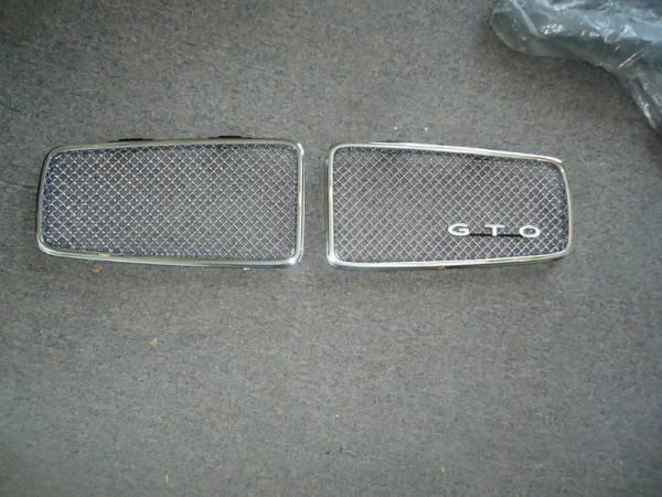 71_GTO_grills_restored