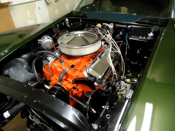 70_corvette_engine_bay_assembly