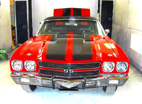 1970 Chevelle by RM Restoration