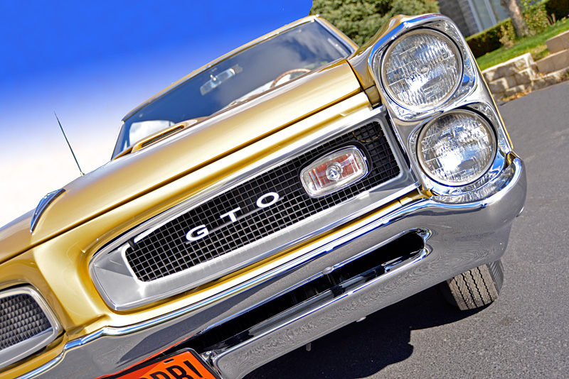 1966 GTO Tripower - Aluminum Drums - RM Restoration
