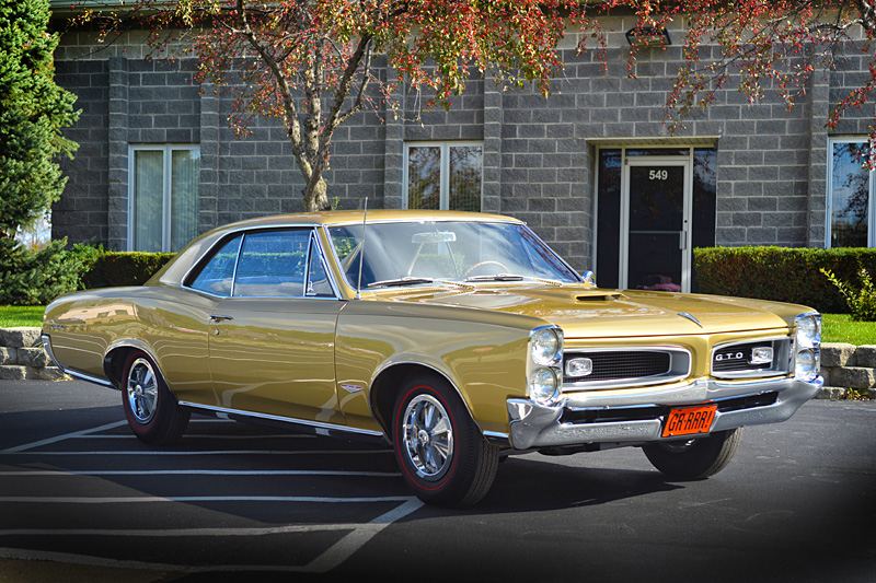 1966 GTO Tripower - Al...