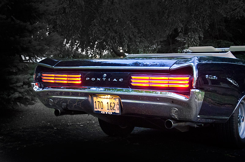 1966 GTO tail lights