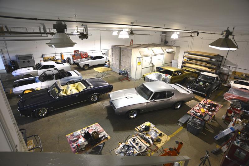 Rm Restoration Shop Photo
