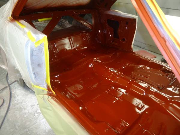 66_GTO_floorpans_in_red_oxide